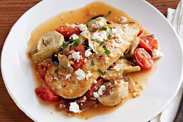 No need to dirty lots of pots and pans to make this chicken Provençal. Get out your favorite skillet and prepare to make something awesome.