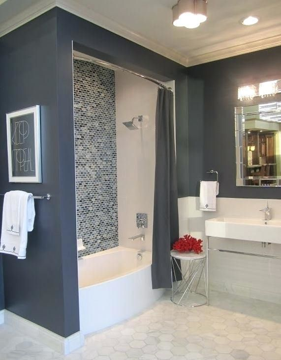 Light Blue And Grey Bathroom Ideas Grey Blue Bathroom Grey Bathrooms Bathrooms Remodel