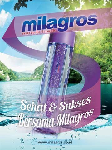 Milagros, miracle inside..ingin sehat dan sukses bersama milagros?ingin tahu bagaimana caranya?contact me on 085727851299 / 082225532789...more info www.milagros.co.id