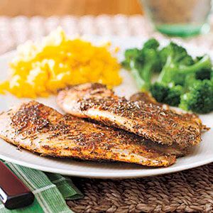 1/6/14 Cajun Blackened Tilapia. Image from; http://www.myrecipes.com/recipe/cajun-blackened-tilapia-50400000130495/