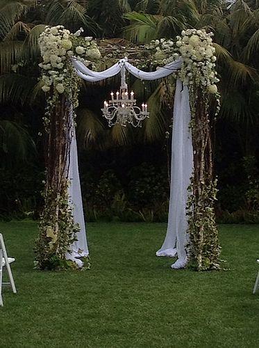 altar cerimônia ar livre