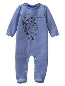 Paddington Bear™ for babyGap graphic footed one-piece - A limited edition Paddington Bear™ collection for your newest little additions. Adventure awaits!