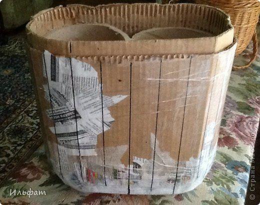 Forma na pletenie košíka - návod