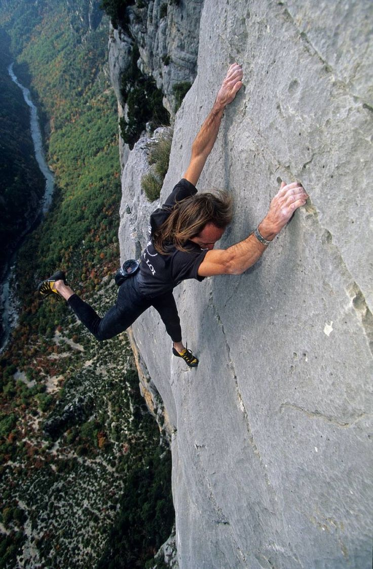 Don't worry I will never do this #climb