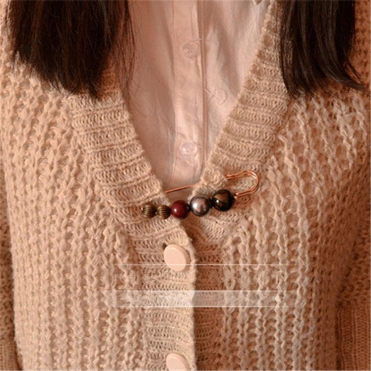 Женщины творческий красочные бисера броши винтаж дамы пальто брошь пен зимняя корсаж пряжки мода аксессуары и украшения купить на AliExpress
