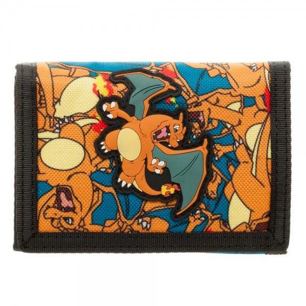 Pokemon Wallet - Charizard Velcro @Archonia_US