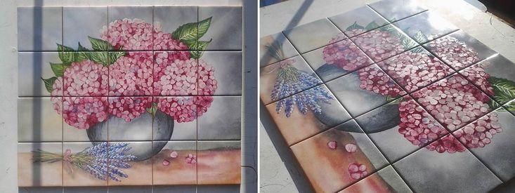 Glazura malowana naszkliwnie