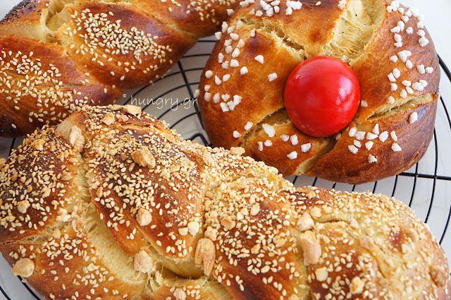 Kitchen Stories: Traditional Greek Easter Bread-Tsoureki