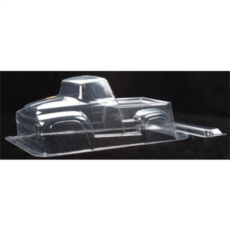 HPI Savage T E-Maxx 1956 F-100 Clear 1/8 Monster Truck Body HPI7188