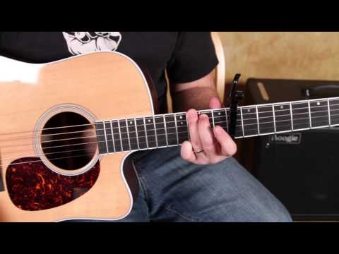 song brown eyed girl how to play on guitar