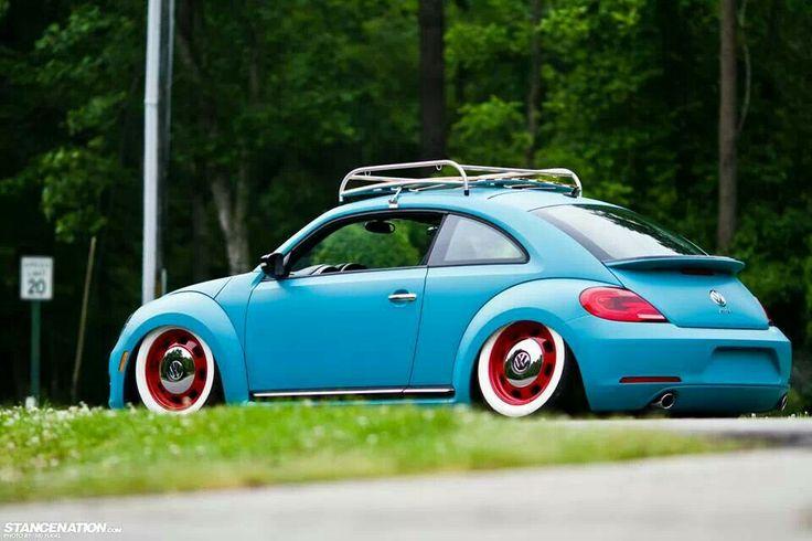 Amazing retro-mod beetle.   I love. cars   Pinterest