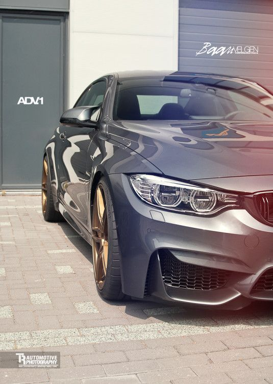 BMW M4 With A Touch Of Custom Aftermarket Wheels