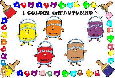 A Scuola con Poldo: I colori dell'autunno