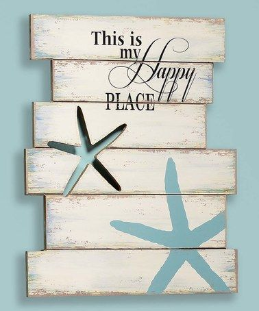 Loving this 'Happy Place' Wall Plaque on #zulily! #zulilyfinds