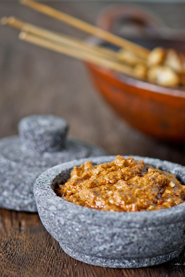 Peanut Sauce. It can be used for fried tofu, vegetable salad, Grilled chicken skewers and many more.