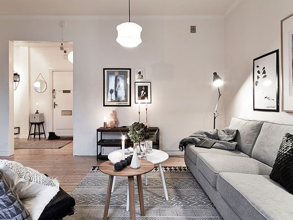 A cozy and stylish apartment to get through winter | NordicDesign