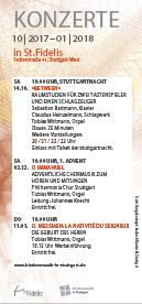 Kalender: Kirchenmusik in Stuttgart