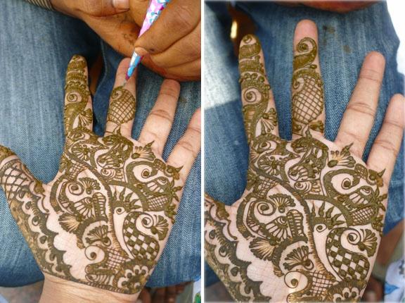 Henna: Palms Patterns