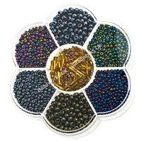 NEW! Metallic Preciosa Multi-selection seed beads http://www.beadworks.co.uk/Catalogue/Mixed-Bargain-Bead-Packs/Preciosa-Multi-Selection-Seed-Bead-Flower-Box