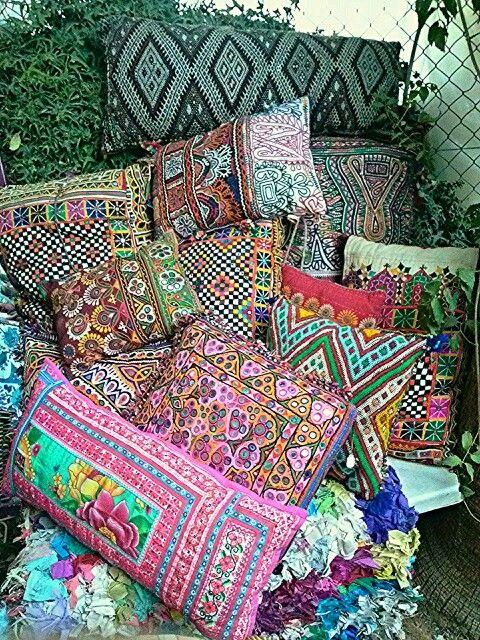 50 best las dalias ibiza hippie market images on pinterest ibiza ibiza style and flea markets - Cojines indios ...