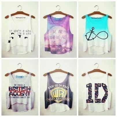 Summer casual shirts. ♥