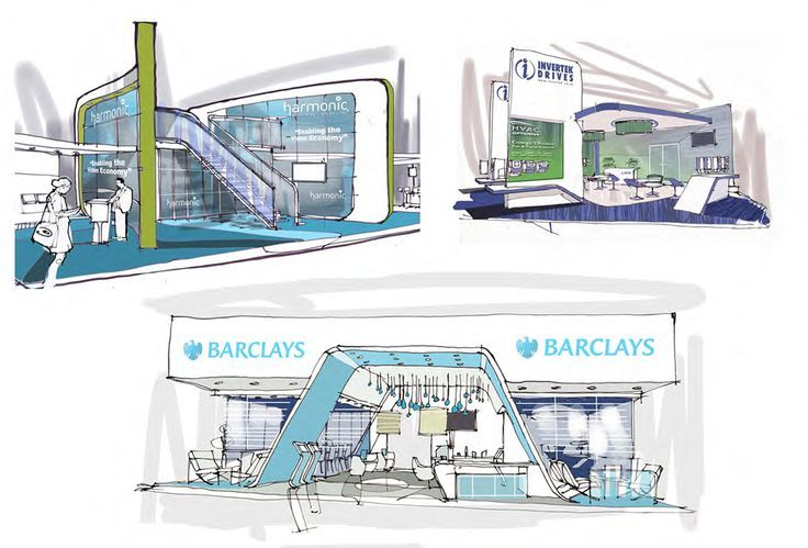 Exhibition Stand Drawing : Best exhibition sketch images on pinterest
