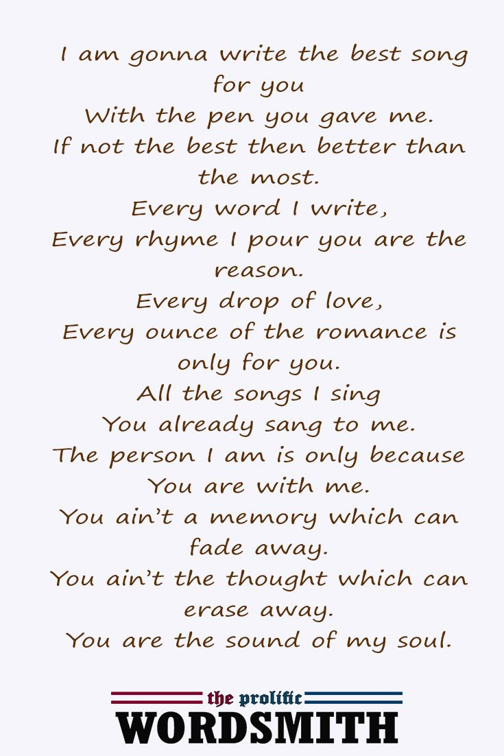 Really deep love poems for her