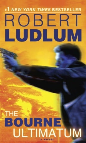The Bourne Ultimatum. Book three in the Bourne series, and the final book written by Robert Ludlum in the series. Released in 1990.  After Robert Ludlum's death Eric Van Lustbader started writing books using the Bourne characters and continues the series. Since 2004 he has released six more Bourne books.