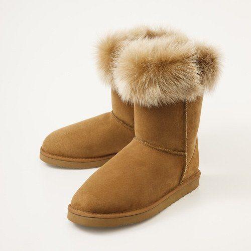 TOSCANA COLLAR Sheepskin Boots
