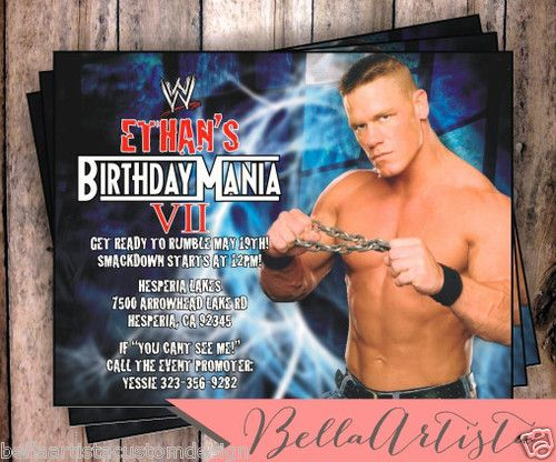 10 best memorable professional wrestling matches of all time images john cena party invitation wrestling wwe invite ebay bookmarktalkfo Choice Image