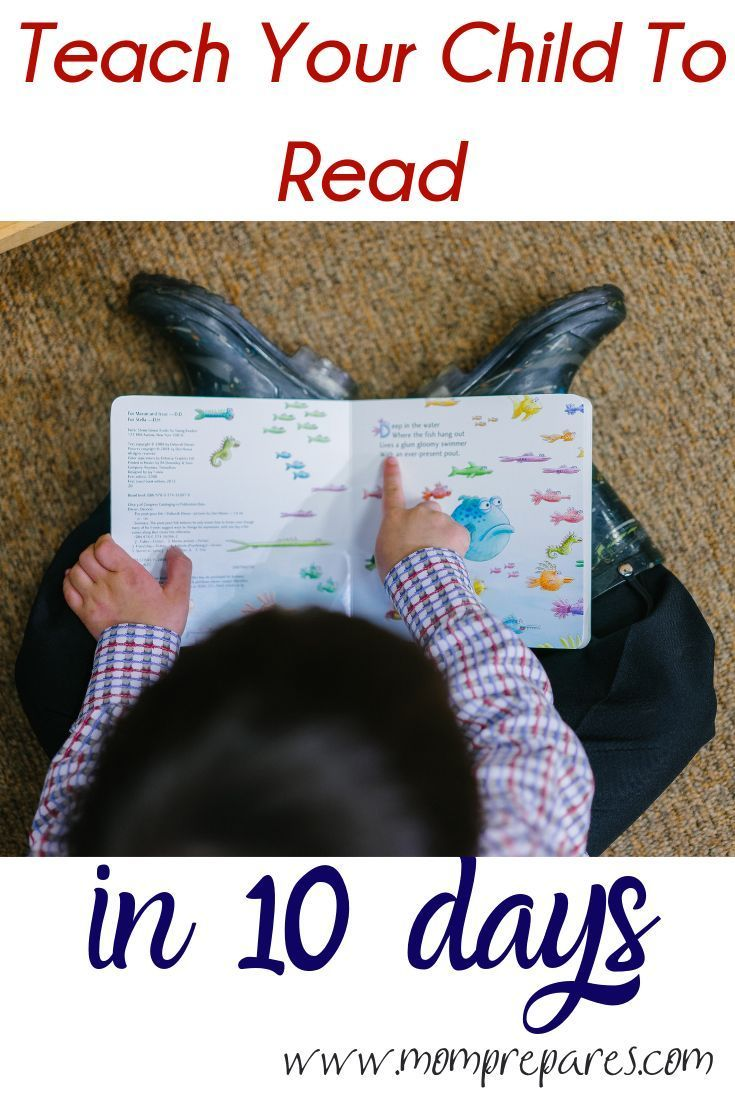 How To Teach Your Child To Read In 30 Days Or Less Mom Prepares In 2021 Baby Reading Learn To Read Books Teaching How to help child learn to read