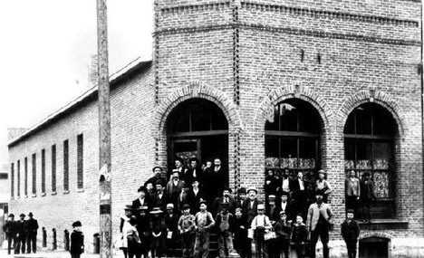The Brick Tavern 1889 Roslyn, Washington.  My great grandfather was the mason on this building.