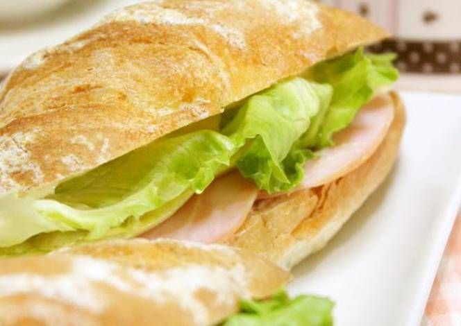 Parisienne Sandwich Ham and Cheese Recipe -  Yummy this dish is very delicous. Let's make Parisienne Sandwich Ham and Cheese in your home!