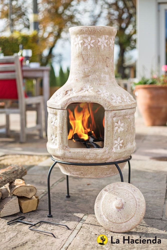 29 best Chimineas images on Pinterest | Fire places ... on Backyard Chiminea Ideas id=46966