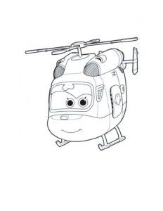 super wings coloring dissy