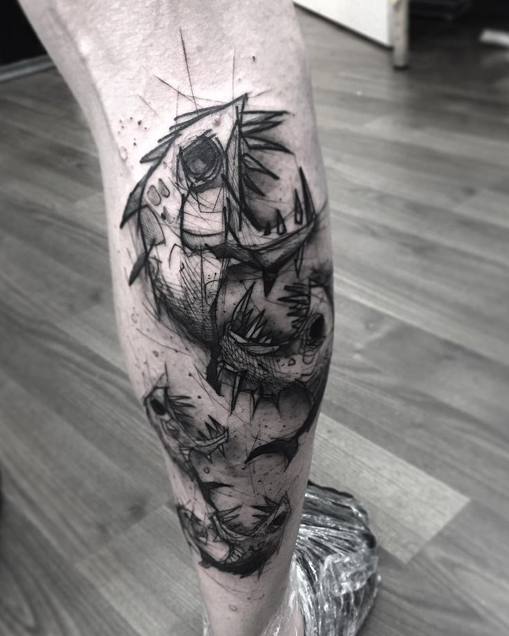 by Kamil Mokot at Berlin Tattoo