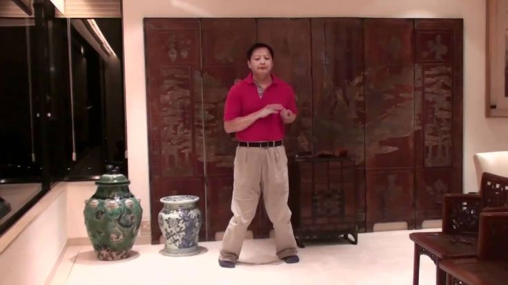 the Yuen Kay San - Siu Nim Tau form performed by Sum Nung's top student Dr Cheung Yung