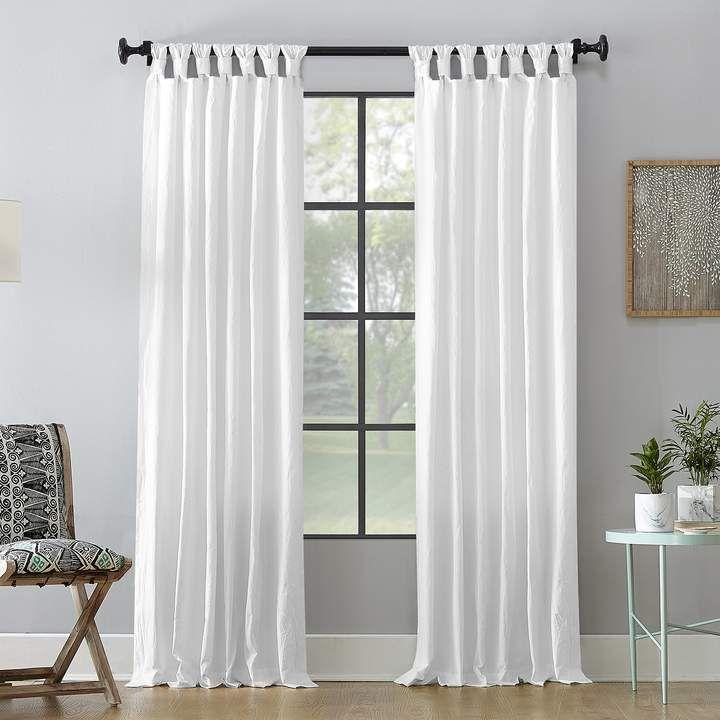 Archaeo Washed Cotton Twist Tab Window Curtain