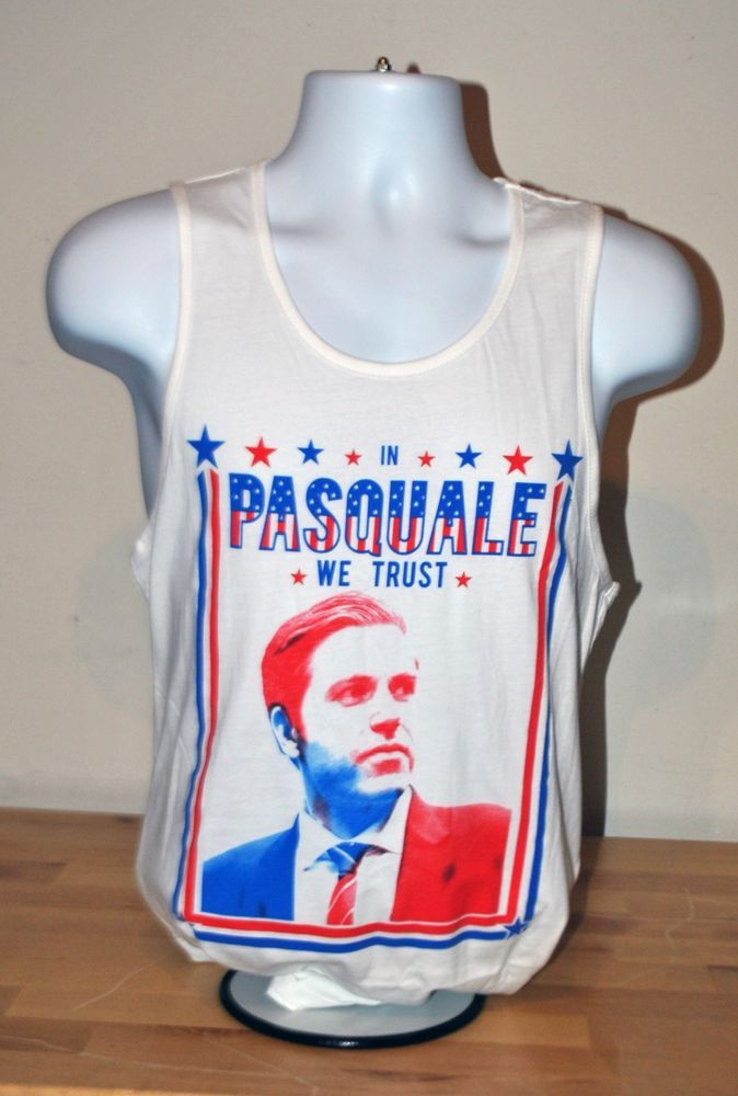 INTO THE AM IN Pasquale We Trust Rave Festival Tank EDC 2014 LAS VEGAS Medium M  #INTOTHEAM #GraphicTankTops