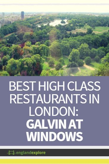 Galvin At Windows is a restaurant located on the Hilton's 28th floor and offers stunning views of the cityscape. Galvin also serves French cuisine in a simple, yet attractive style. Prices at Galvin At Windows reflect both the delicious food and the fantastic views.
