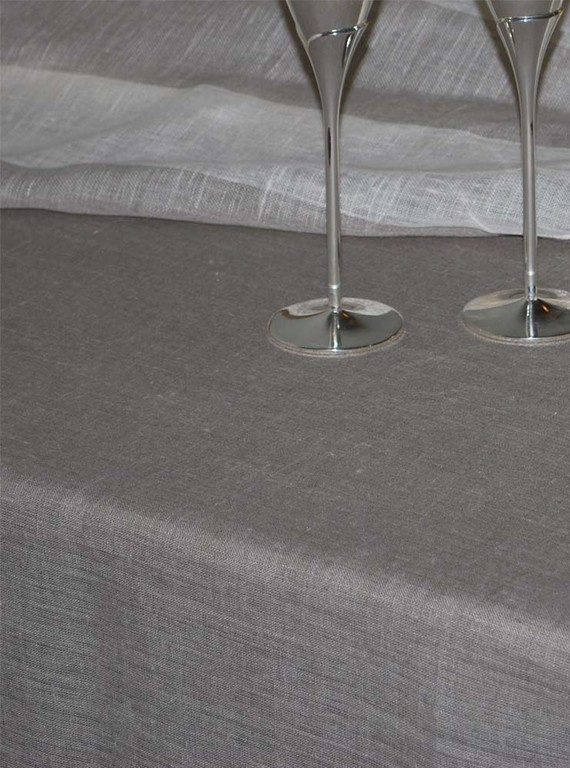 Linen Tablecloth Natural Grey145cmx145cm by magdalinenHome on EtsyTables Clothing, Nature Grey145Cmx145Cm, Linens Tablecloth, Tablecloth Nature, Soul Kitchens