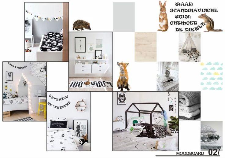 Scandinavische stijl en dieren_moodboard