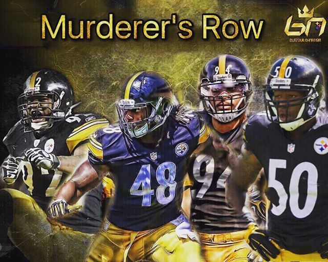 Most scariest linebackers in the game! @jhharrison92 @bud_dupree @kissmyconverse82 @shazier #steelers #steelersnation #steelernation #pittsburgh #pittsburghsteelers #steelersbaby #steelersfan #steelersfootball  #steelersforlife #steelersfans #steelerscountry #letsgosteelers #Gosteelers #HereWeGosteelers #burghproud #herewego #steelergang #steelcity #steelerspride #stairwaytoseven #ps4l #nfl #sixburgh #pennsylvania #blackandyellow #blackandgold