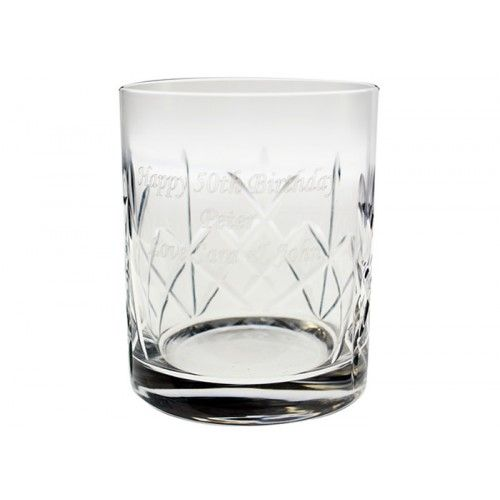 Engraved Crystal Whisky Tumbler  from www.personalisedweddinggifts.co.uk :: ONLY £19.95