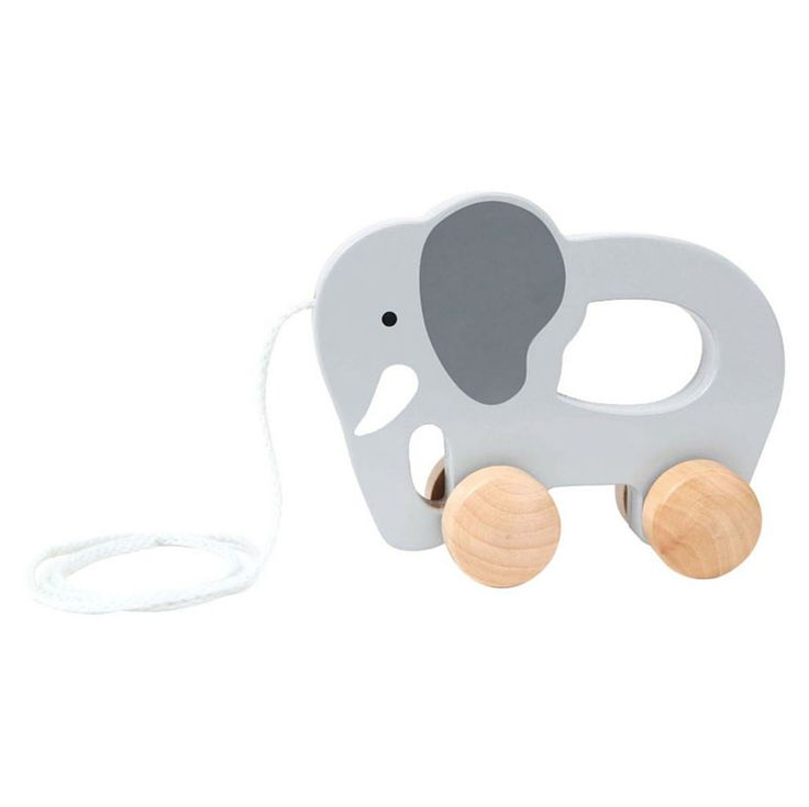 push and pull toy elephant toy by hape is the perfect baby and toddler toy for kids on the move