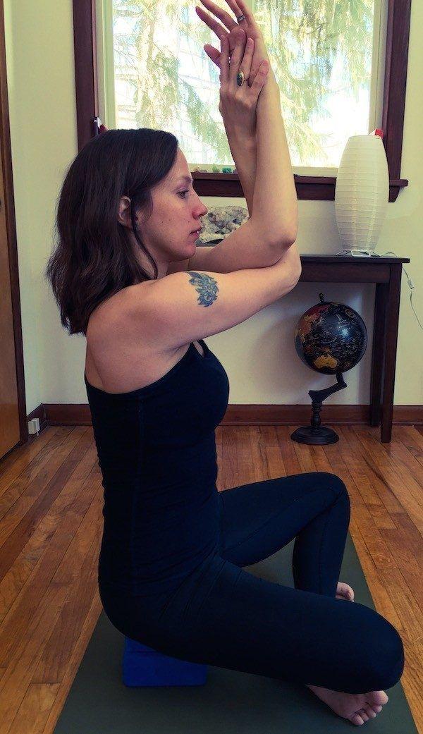 5 простых упражнений при  боли в шее