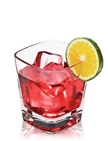 DISARONNO & CRANBERRY  Refresh, revive, relax    Keep it clean with a crisp blend of cranberry juice and smooth DISARONNO.  1½ parts DISARONNO  5 parts Cranberry juice  METHOD  Pour ingredients over ice. Garnish with a lime slice.    TASTE Bitter  STRENGTH Strong