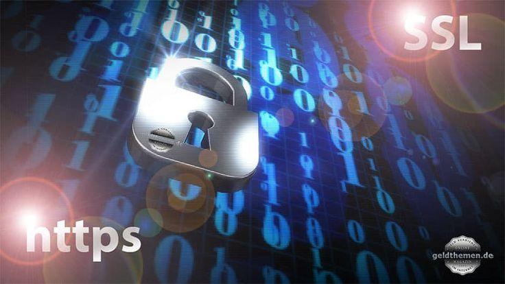 SSL-Verschlüsselung – Geldthemen.de mehr Sicherheit und Datenschutz