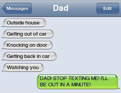 Creeper DadFunny Texts, Creepers Dads, Dads Lolh, Dads Lol H, Funny Stuff, Funny Dads, My Dads, Random Stuff, Autocorrect Fail