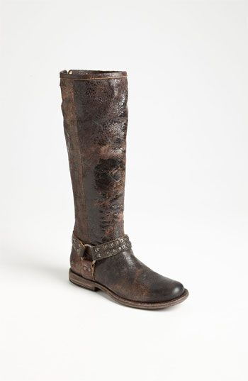 Frye 'Phillip Studded Harness' Boot available at #Nordstrom